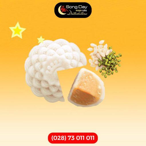 Dẻo đậu xanh hạt dưa 0 trứng 250g