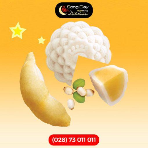 bánh kinh đô Dẻo Sầu riêng hạt sen