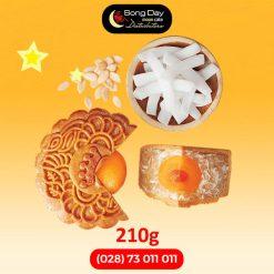 Bánh trung thu Kinh Đô Sữa dừa hạt dưa 2 trứng
