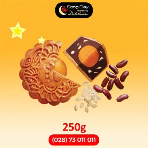 Bánh trung thu kinh Đô Đậu đỏ kiểu Nhật 2 trứng đặc biệt