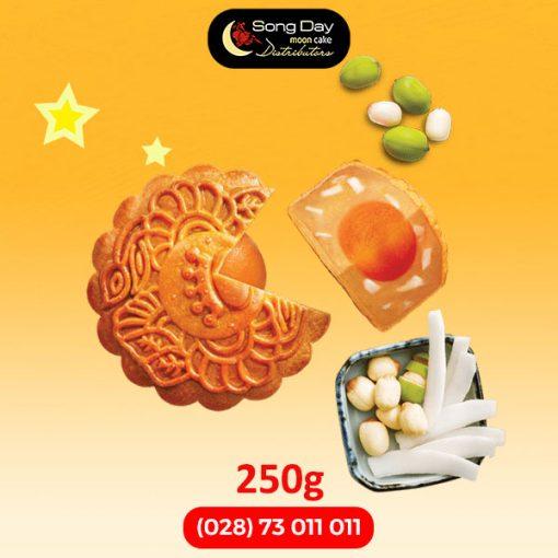 Bánh trung thu Kinh Đô Hạt sen dừa tươi 2 trứng đặc biệt