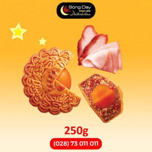 Bánh trung thu Kinh Đô Jambon xá xíu 2 trứng đặc biệt
