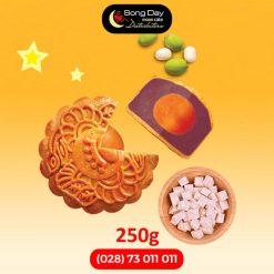 Bánh trung thu Kinh Đô Khoai môn hạt sen 2 trứng đặc biệt