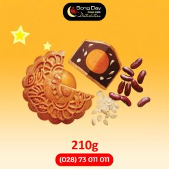 Bánh trung thu Kinh Đô Đậu đỏ Kiểu Nhật 2 trứng