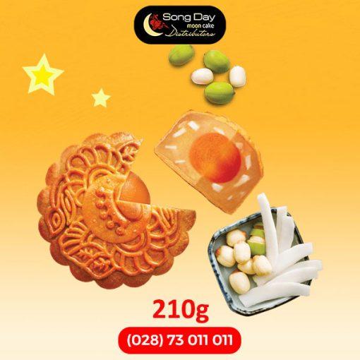 Bánh trung thu Kinh Đô Hạt sen dừa tươi 2 trứng