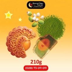 Bánh trungt hu Kinh Đô Hạt sen trà xanh 2 trứng