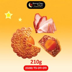 Bánh trung thu Kinh Đô Jambon xá xíu 2 trứng