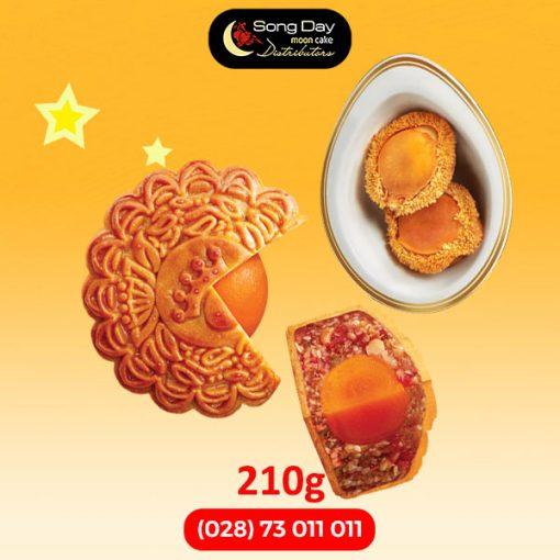 Bánh trung thu bào ngư Kinh Đô 2 trứng 210g
