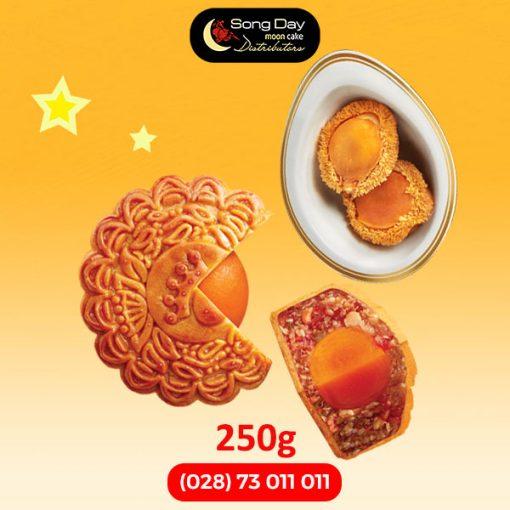 Bánh trung thu kinh đô bào ngư 2 trứng đặc biệt 250g