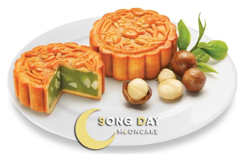 Bánh Kinh Đô xanh trà xanh hạt MACADAMIA