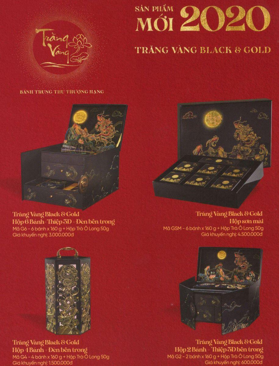 hộp bánh trung thu trăng vàng black and gold