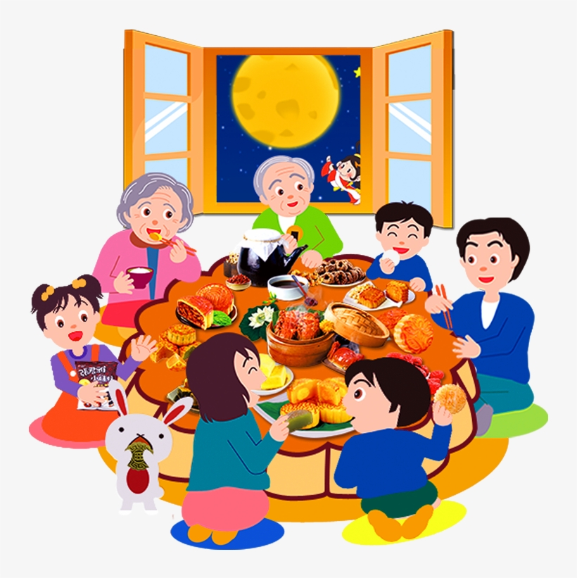 tết trung thu bên gia đình